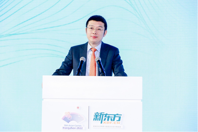 新东方成为杭州2022年亚运会、亚残运会官方赞助商,将打造四大服务体系-黑板洞察